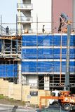 Construction Units Beane St royalty free stock photos