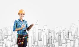 Construction urbaine Photos stock
