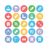Construction Vector Icons 9 Royalty Free Stock Photography