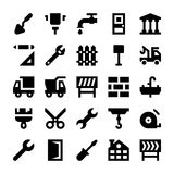 Construction Vector Icons 2 Royalty Free Stock Images
