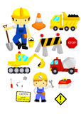 Construction Vector Set Stock Photography
