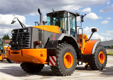 Construction Vehicle. New and modern Construction Vehicle Royalty Free Stock Photo