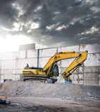 Construction vehicle Royalty Free Stock Photo