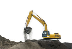 Construction vehicle Stock Image