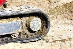 Construction vehicle caterpillar Stock Images