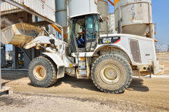 Construction vehicle on site Stock Image