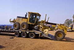 Construction vehicles royalty free stock photo