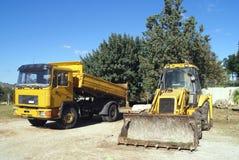 Construction vehicles Stock Photos