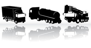 Construction vehicles -  collection Stock Images