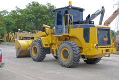 Construction Vehicles In Thailand Stock Photos