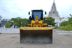 Construction Vehicles In Thailand Stock Photo