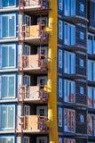 Construction verticale image stock