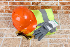 Construction vest Royalty Free Stock Image