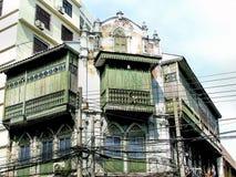 Construction vieille chez Chinatown Yaowarach Photographie stock libre de droits