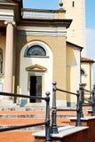 construction vieille dans la religion et la lumière du soleil de Milan Photo stock