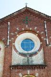 construction vieille en Italie et lumière du soleil Photographie stock libre de droits