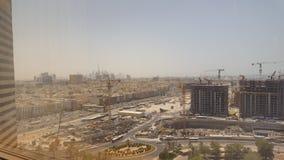 Construction view. Hayat agency hotel view dubai Royalty Free Stock Photography