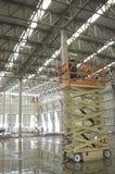 Construction of a warehouse Royalty Free Stock Photos