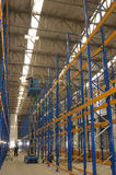 Construction of a warehouse distribution Stock Photo
