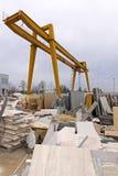 Construction warehouse Royalty Free Stock Image