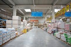 Construction warehouse Stock Image
