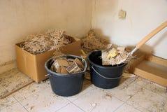Construction waste Stock Photos