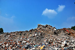 Construction waste Stock Images