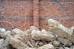 Construction waste Stock Image