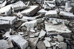 Construction waste Royalty Free Stock Image