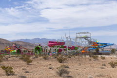 Construction of Wet n Wild, in Las Vegas, NV on April 24, 2013 Royalty Free Stock Photo
