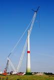 Construction windturbine Stock Photography
