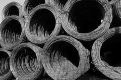 Construction wire on stock Stock Image