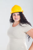 Construction woman Stock Images