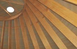 Construction of a wooden cover Stock Photos