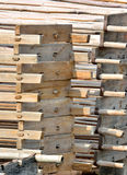 Construction wooden frame Royalty Free Stock Image