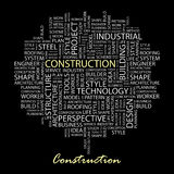 CONSTRUCTION. Stock Image