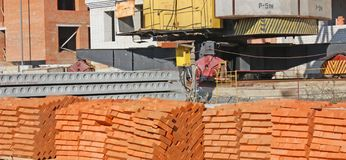 Construction work Stock Photography