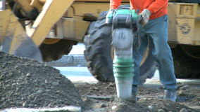 Construction work 8 8. The is a clip from a series about construction work stock video footage