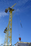 Construction work on Marischal Square, Aberdeen, Scotland Stock Photo