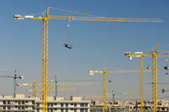 Construction work site Royalty Free Stock Image
