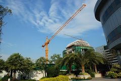 Construction work site Royalty Free Stock Photos