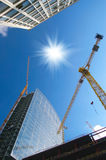 Construction work site Royalty Free Stock Photo