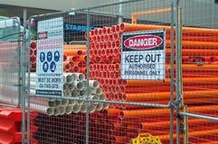 Construction work,Sydney Stock Photo