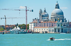 Construction work in Venice Royalty Free Stock Photography