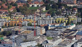 Construction work in Zurich Royalty Free Stock Photo