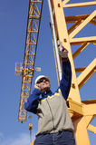 Construction and worker Stock Photography