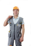 A construction worker Stock Photo