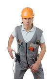 A construction worker Stock Photos