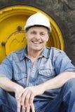 construction worker Στοκ εικόνα με δικαίωμα ελεύθερης χρήσης
