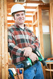 Construction Worker - Carpentry Stock Photo